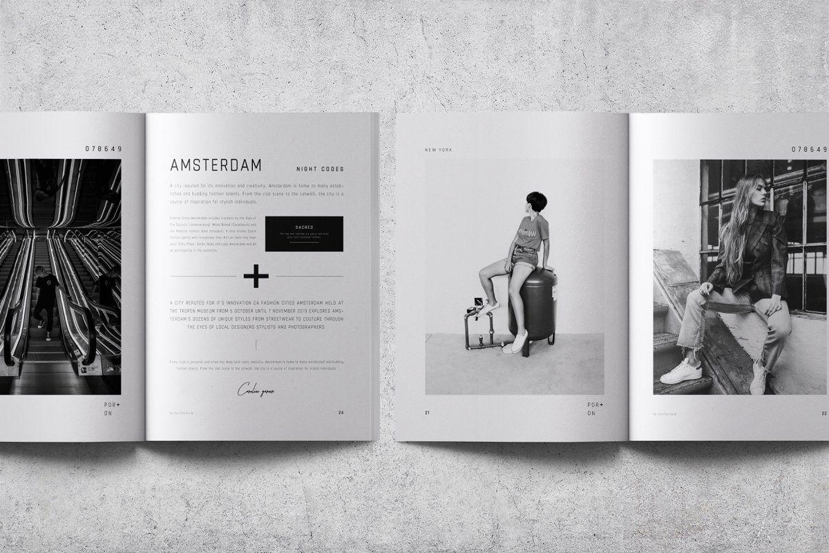 Por On Lookbook Brochure Brochure Design Template Indesign Brochure Templates Brochure Template