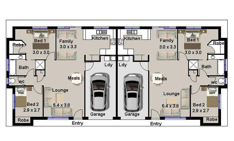 Duplex Floor Plans House