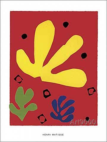 Henri Matisse - Eléments végétaux, 1947