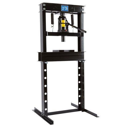 20 Ton Manual Operated Hydraulic Bottle Jack Mechanic Repair Shop Press Black Bottle Jacks Shop Press Hydraulic Shop Press