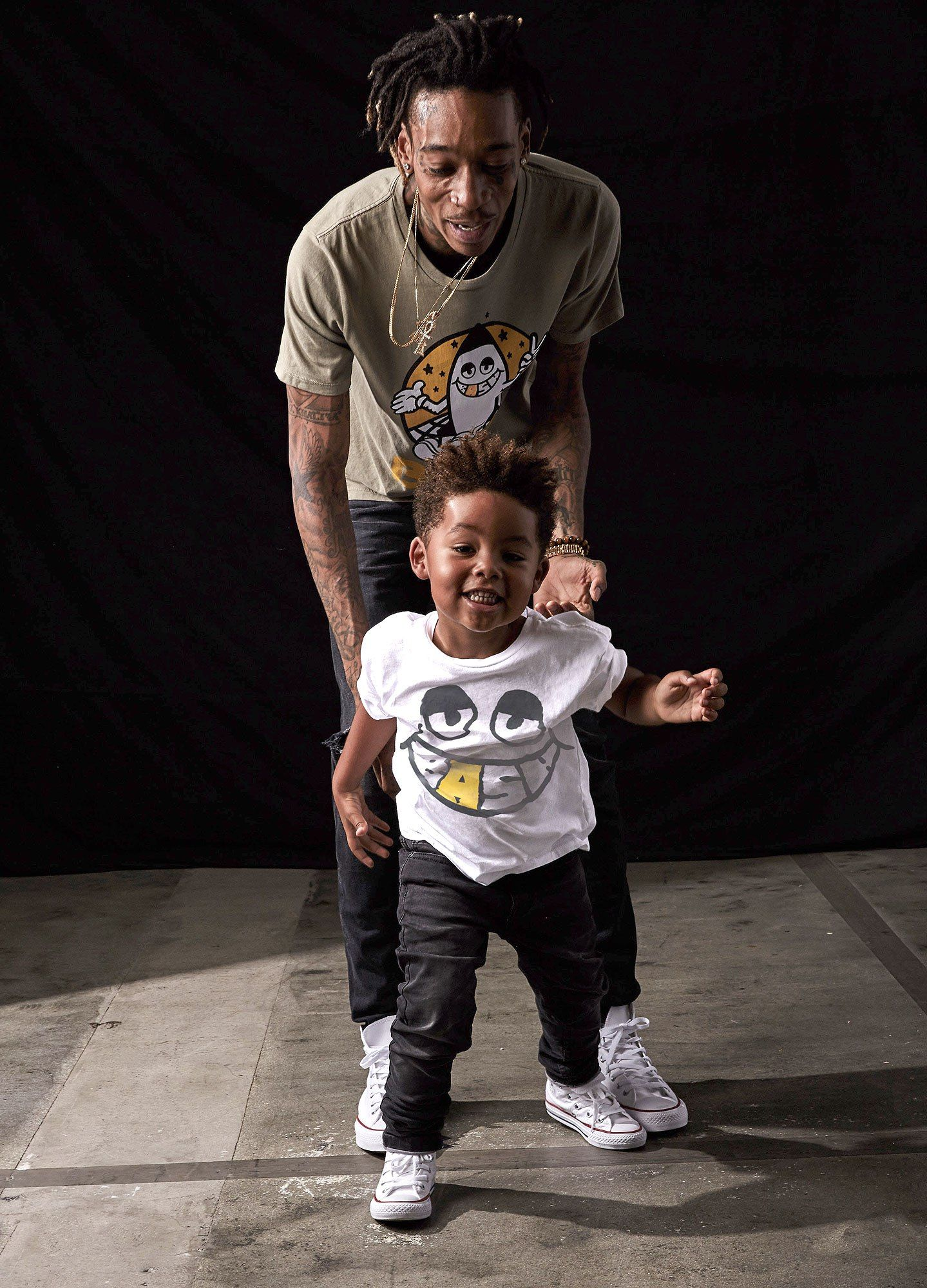 Wiz Khalifa, Son Sebastian Launch FatherSon Clothing Line