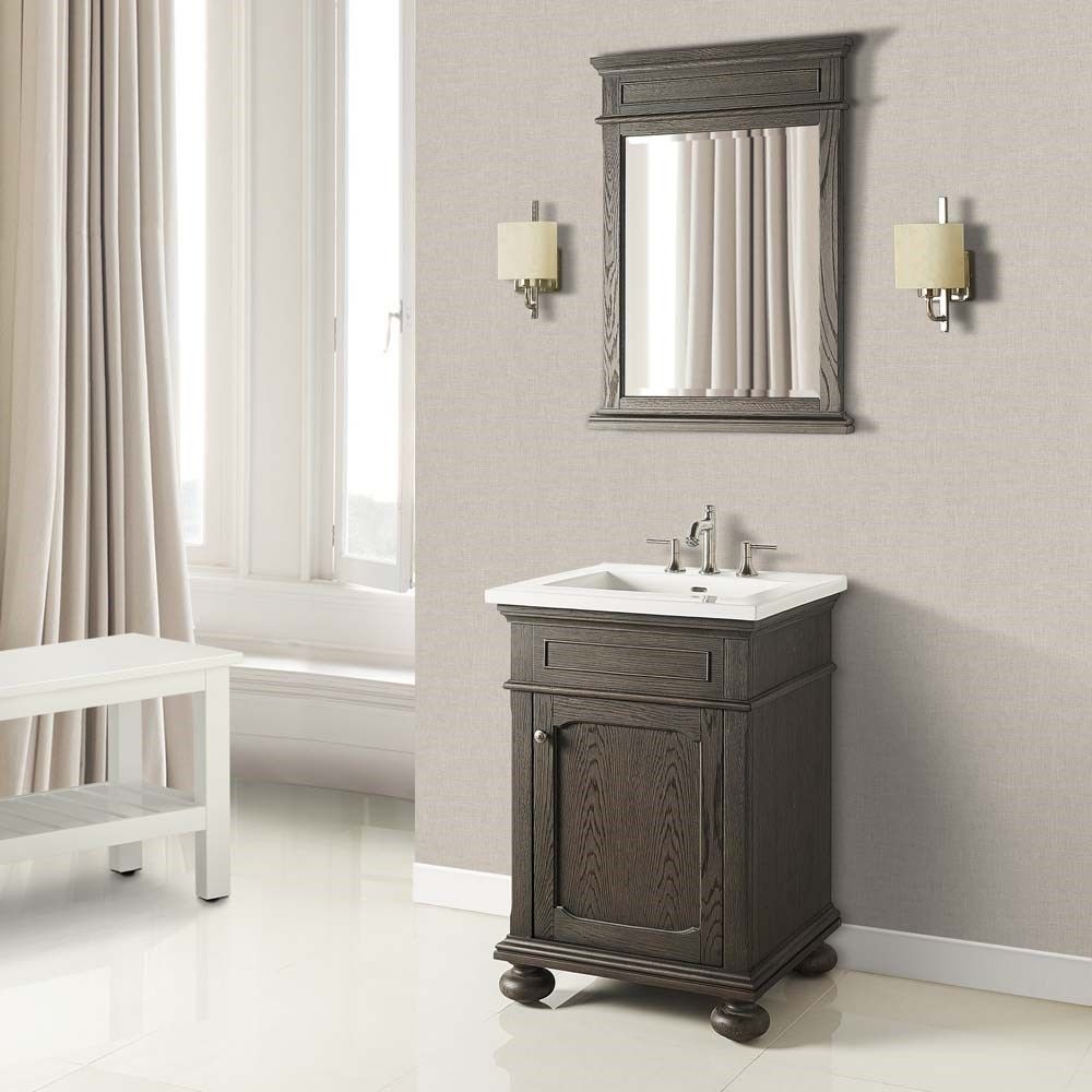 "Fairmont Designs Oakhurst 24"" Vanity for Integrated Top"