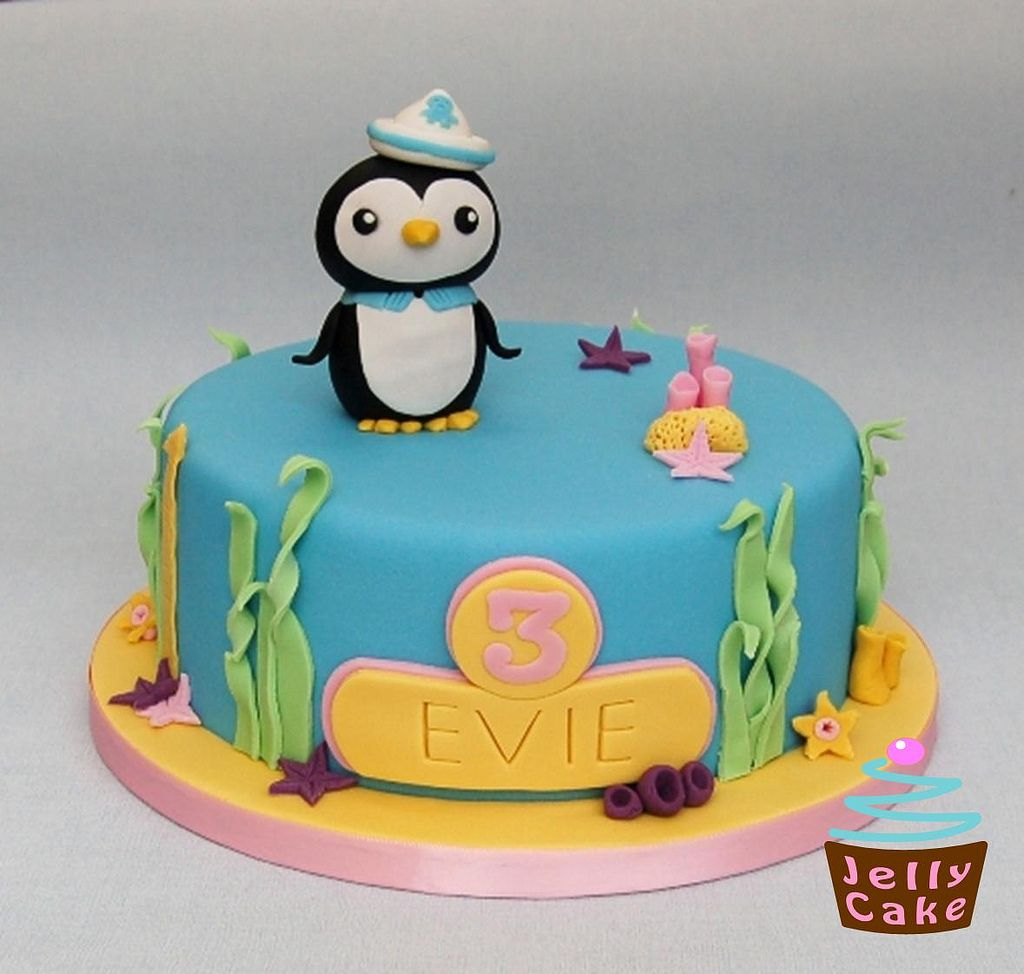 Octonauts Birthday Cake Birthday cakes Cake and Penguin cakes