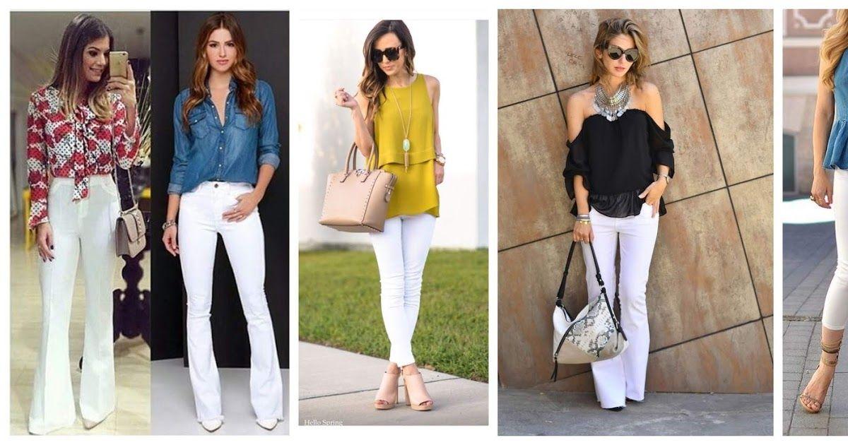 Pin en Pantalones blancos