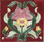 Daffodil tile