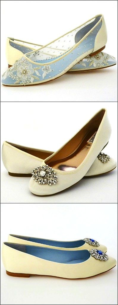 Those Elusive Flat Wedding Shoes 3 Fabulous Bridal Flats That Are Pretty Comfortable