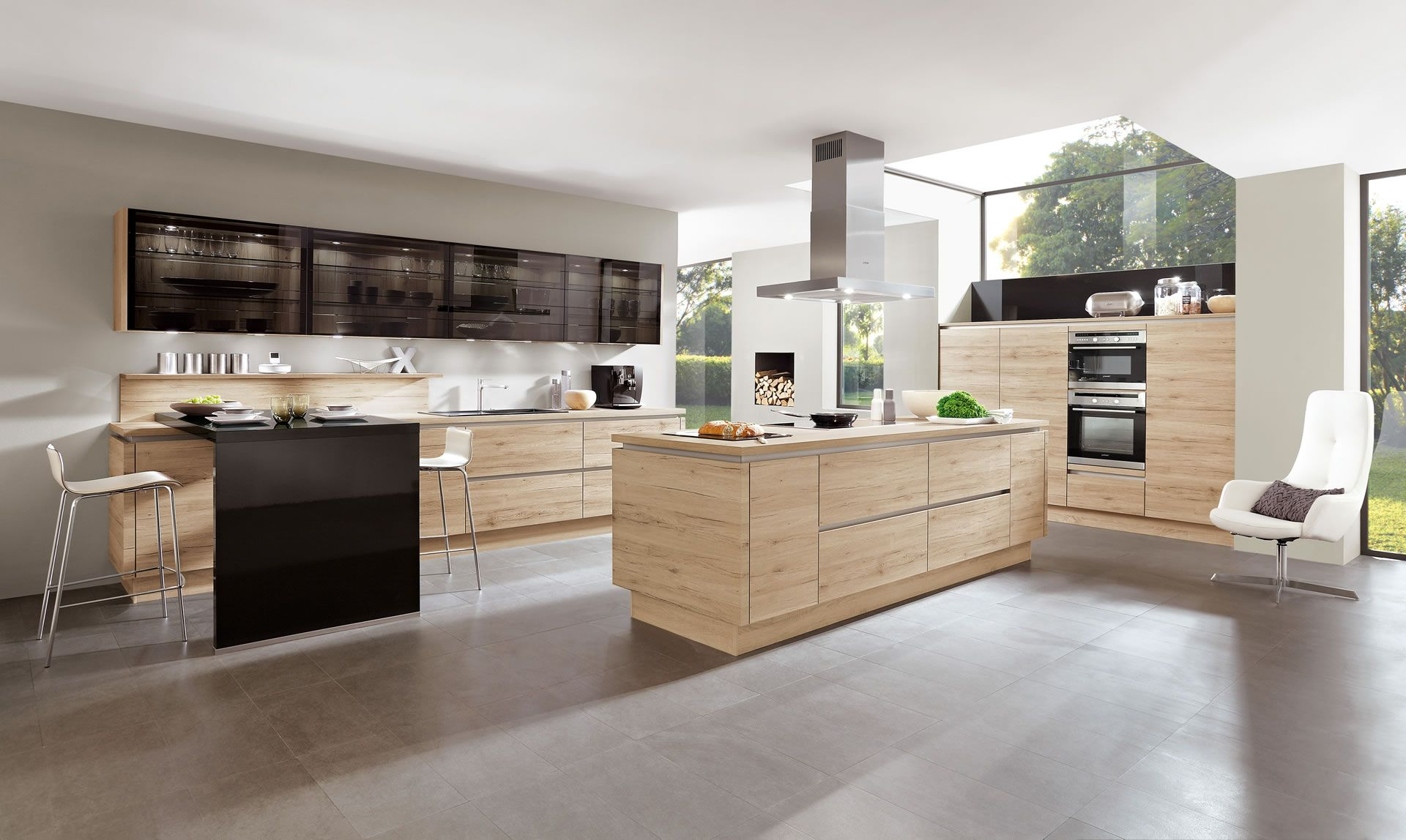 Woodworker Küchen ~ Nobilia küchen nobilia produkte hölzer Гостиная