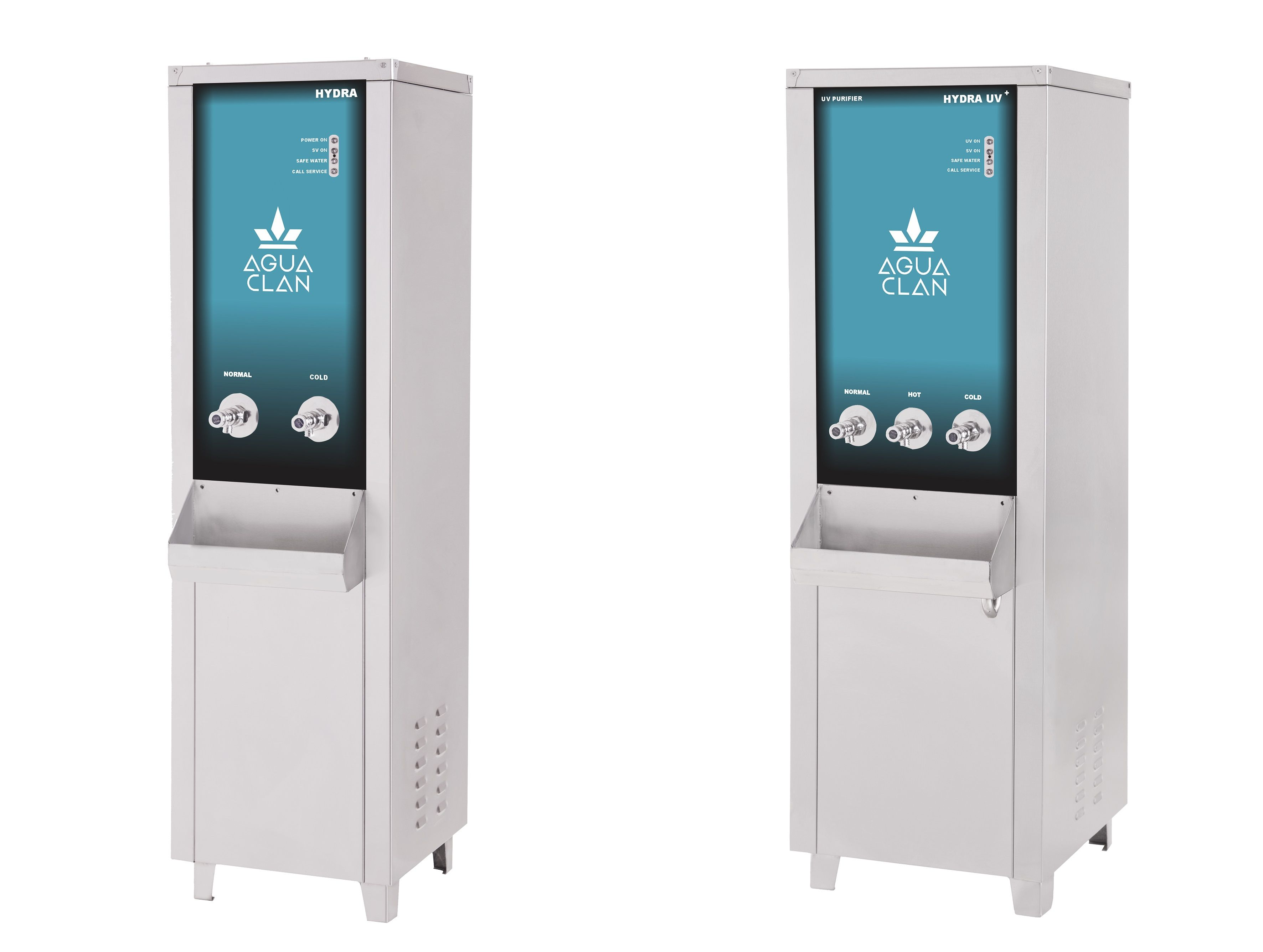 Industrial UV Purifiers with Hot & Cold Water Options