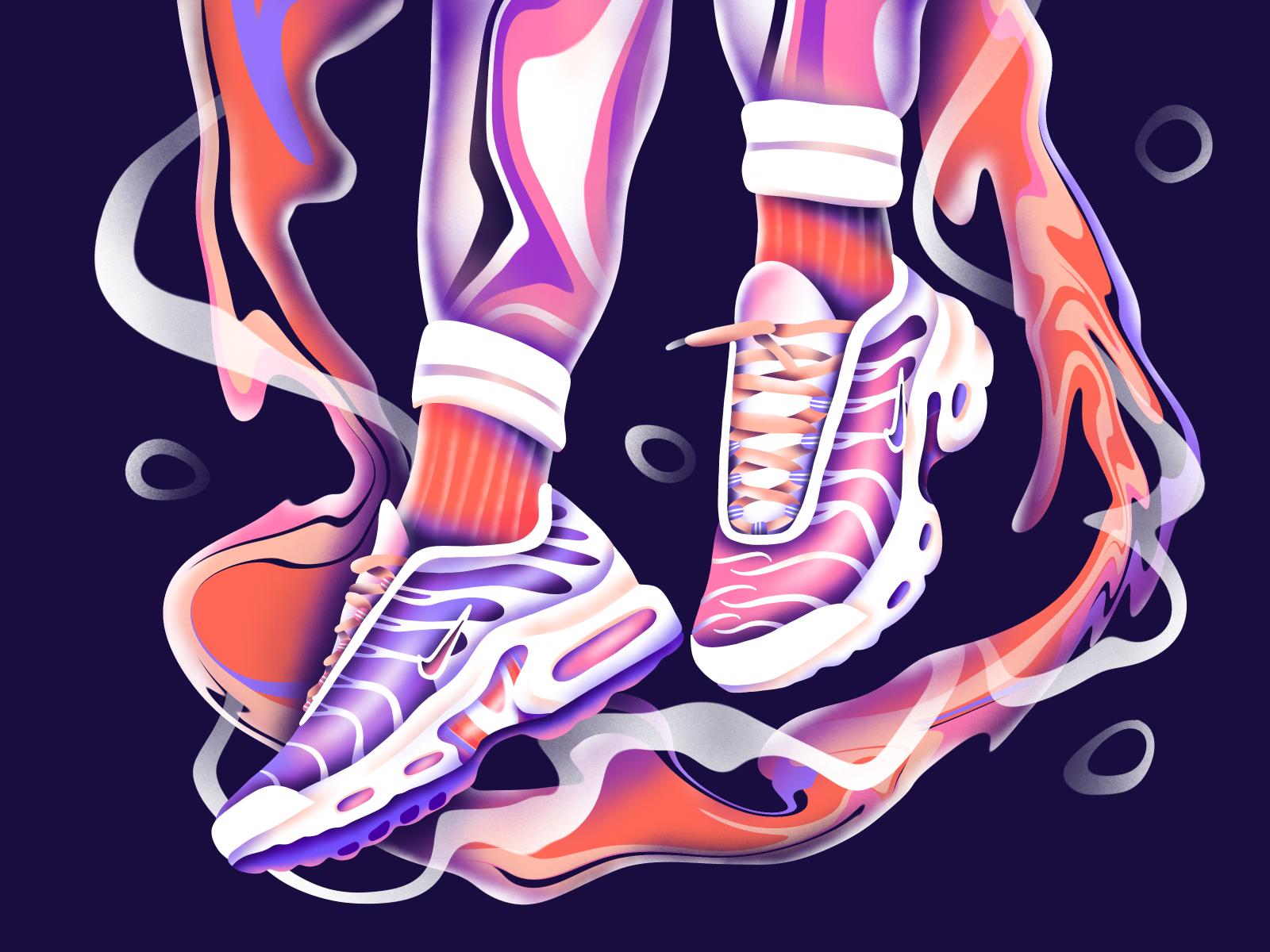 Nike tn, Nike art, Design inspiration