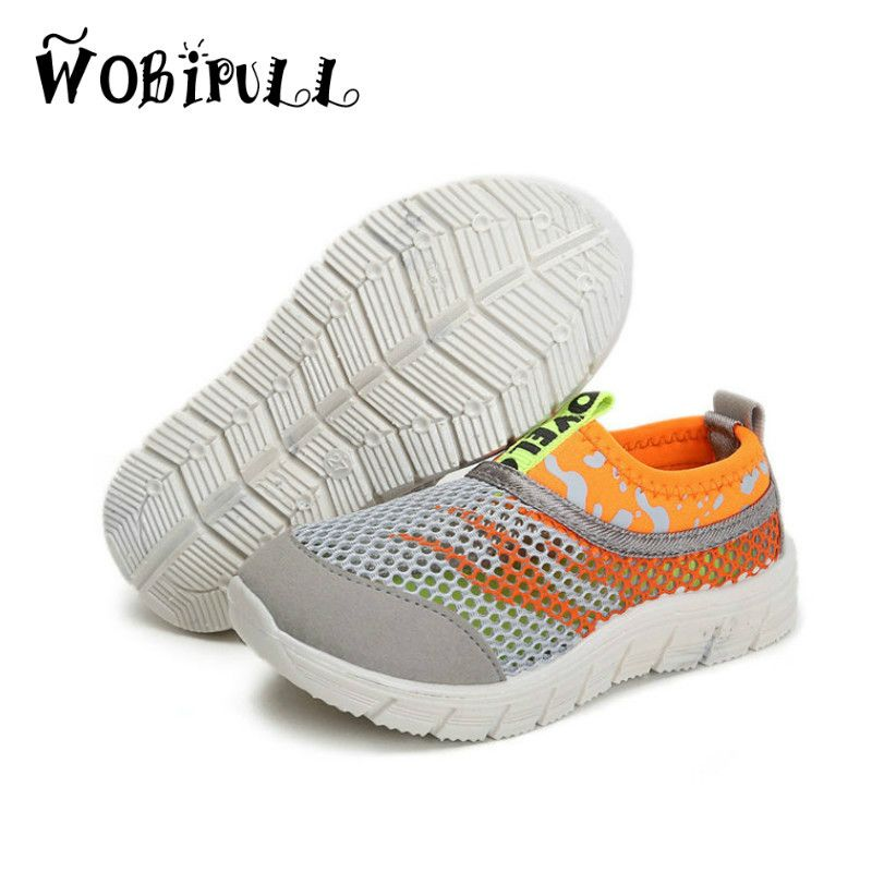 9a0036cdf982f Click to Buy    WOBIPULL 2017 children shoes Mesh sneakers boys girls  Ultra.