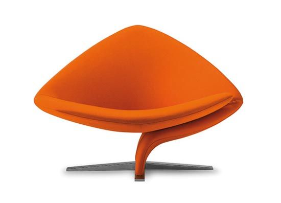 Modern Chairs With Brightly Colored By Tono