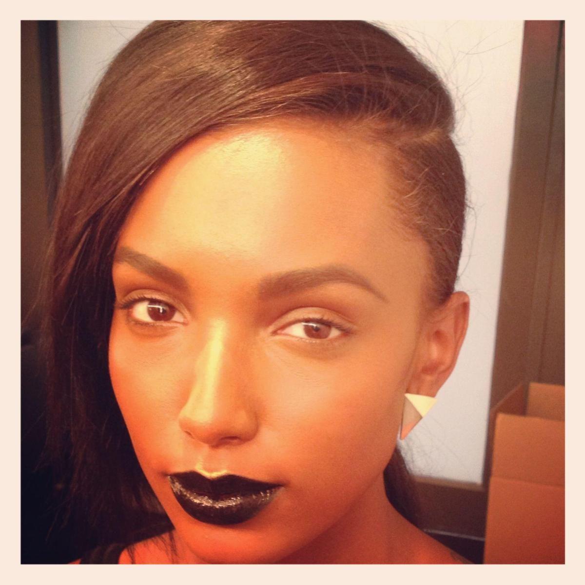 Pin on Black Lipstick