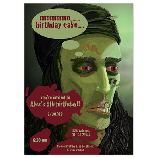 zombie baby shower Bing Images Baby shower Pinterest