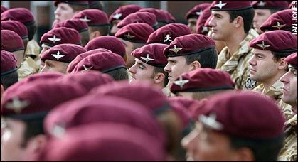 Soldiers of the Parachute Regiment