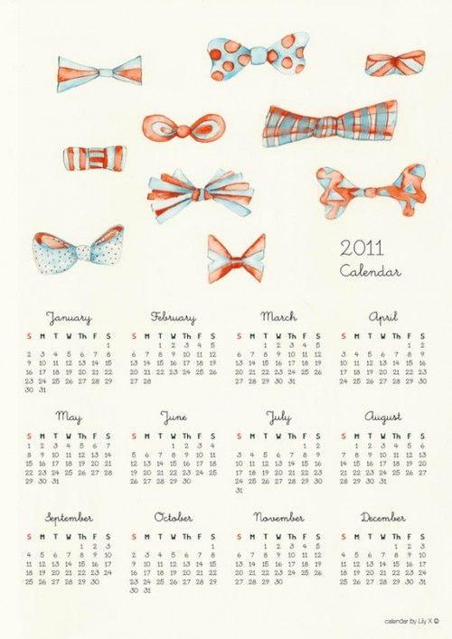 2011 Calendar Round Up Part 8 Calendar Calendar Design Calender