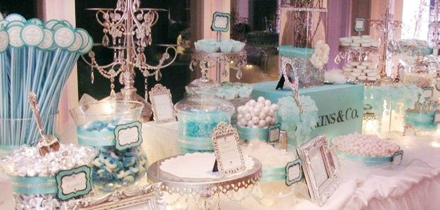 Tiffany&Co Inspired Wedding | Tiffany Themed Wedding | Tiffany & Co