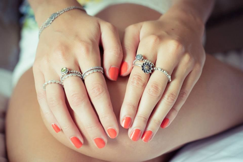 anillos pandora apilables