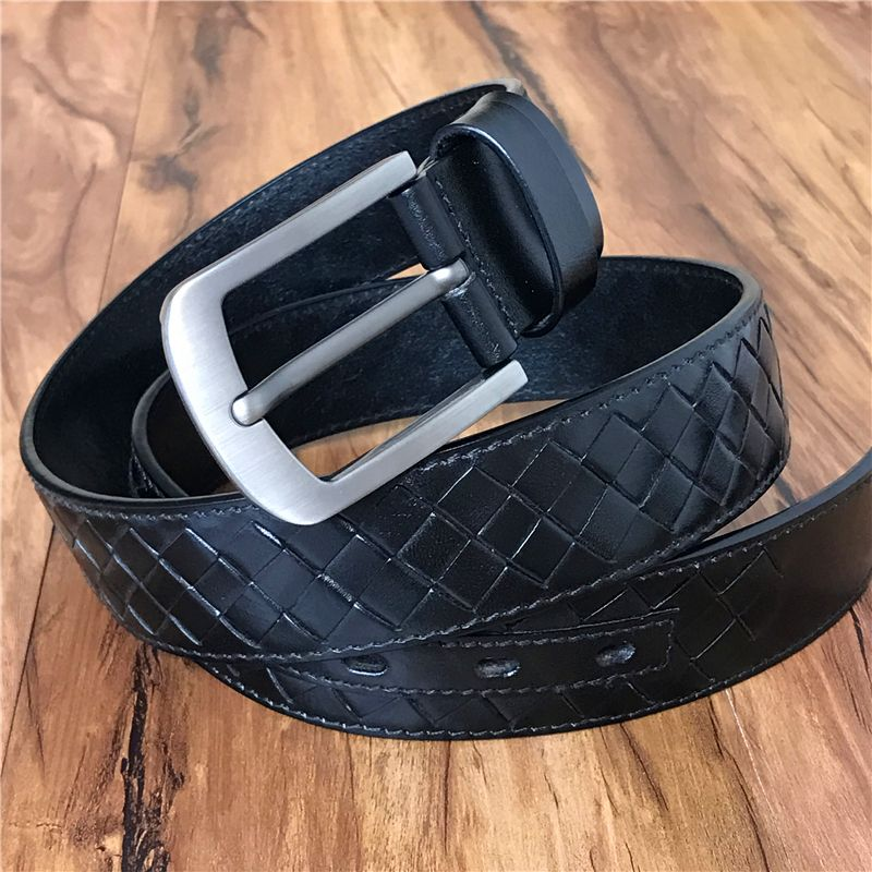 Braided Belt Genuine Leather Men Belt Vintage Belt Buckle British Luxury  Braid Belts For Men Ceinture cfa94fef802