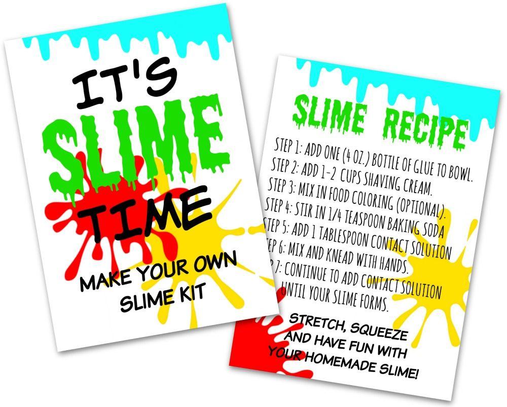 diy slime kit make your own slime kit in 5 minutes diy slime