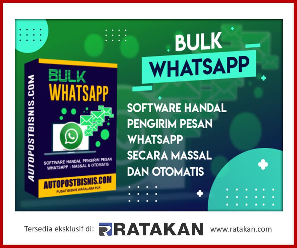 Waralaba Produk Digital Bulk Whatsapp Di 2020 Pesan Teks Marketing