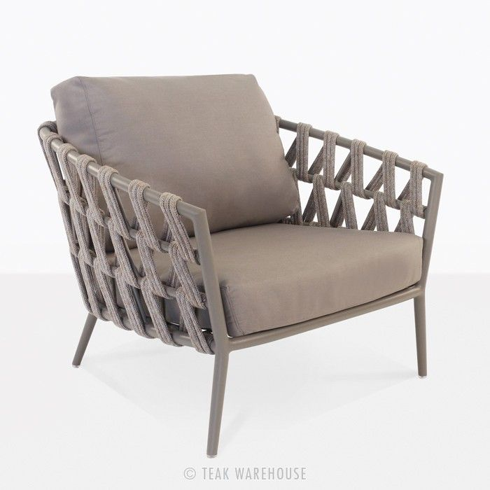 Chair Furniture Outlet Ny Outdoor Furniture Outlet: Wellington Rope Outdoor Club Chair