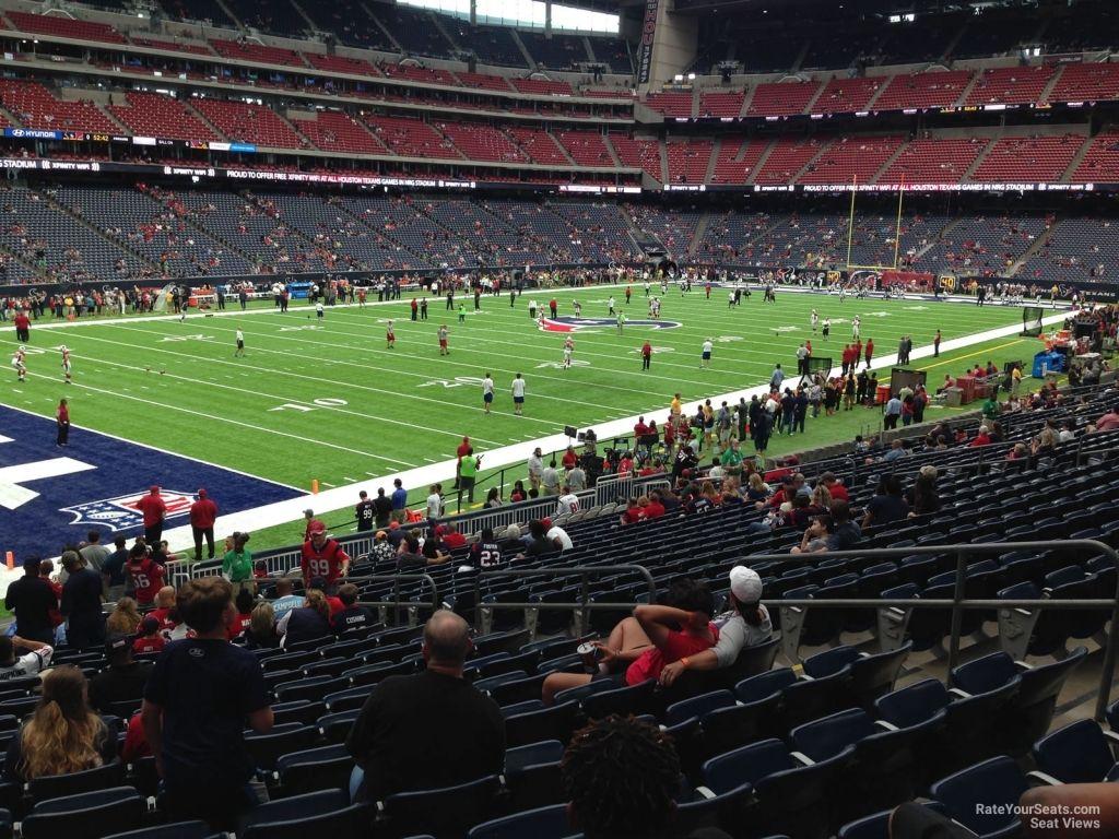 Nrg Stadium Section 132 Houston Texans Rateyourseats Regarding Nrg Stadium Interactive Seating Chart Nrgstadiuminteractiveseatingcha