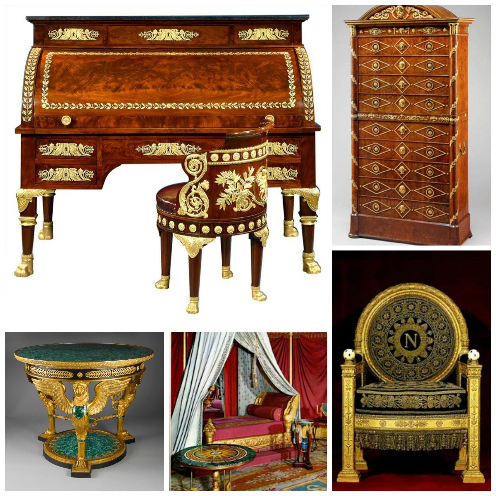 Muebles Imperio 1804 1815 Estilo Marcado Por Napole N A Quien  # Muebles Egipcios