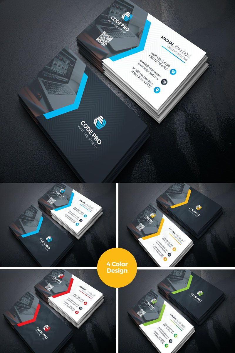 Prime Individual Cosmetic Business Card Corporate Identity Template