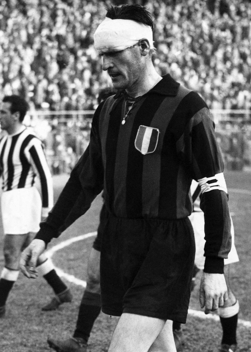 Nils Liedholm AC Milan 1949 1961 359 apps 81 goals in the 50s