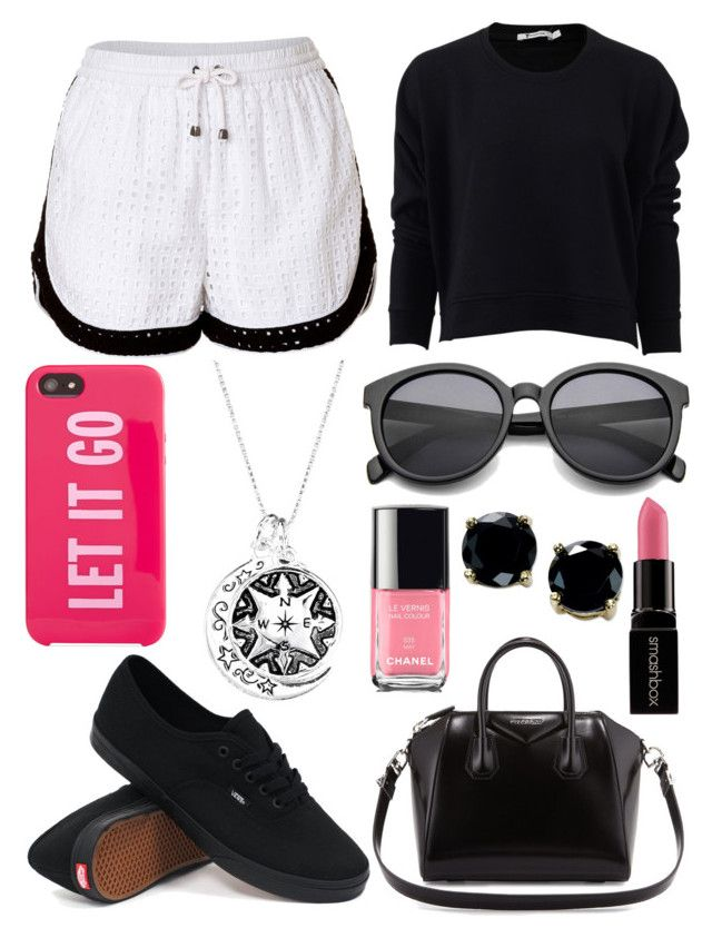 """""""Untitled #500"""" by daimy-style ❤ liked on Polyvore featuring Jonathan Simkhai, T By Alexander Wang, Givenchy, Smashbox, Kate Spade, Vans and B. Brilliant"""