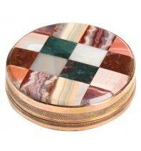 Victorian Marble Specimen Snuff Box