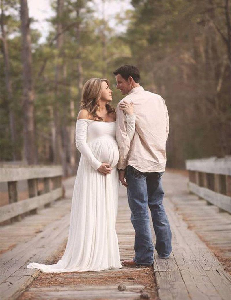 Mom to Be Baby Bump Pregnancy Portrait Dress / Maternity Photo Prop ...