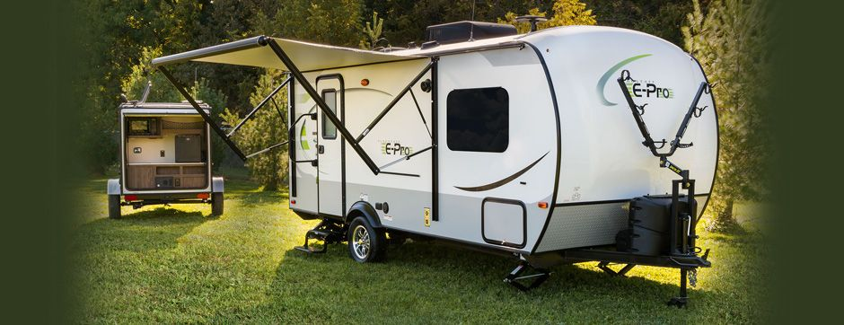 Flagstaff E Pro Travel Trailers By Forest River Rv Trailer Life