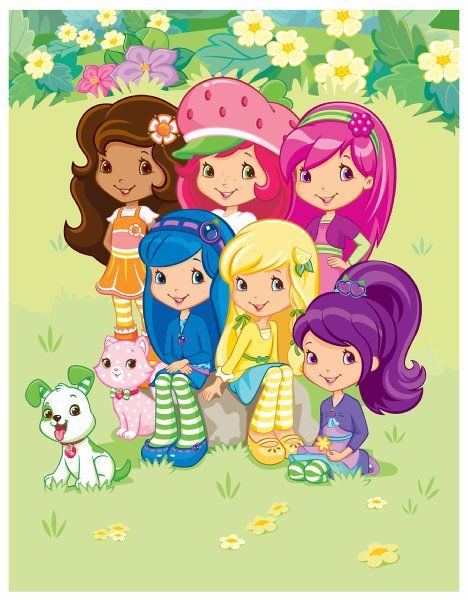 Strawberry And Friends Strawberry Shortcake Characters