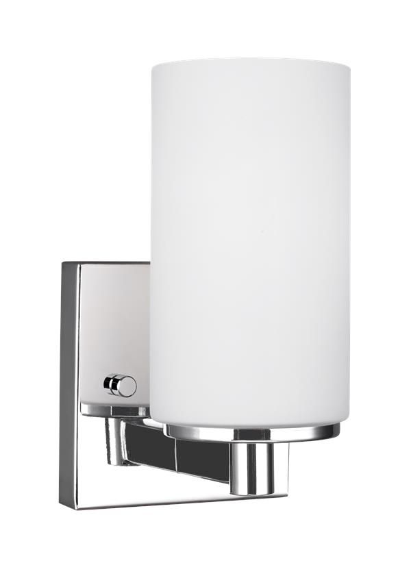 Seagull Lighting One Light Wall Bath Sconce Sconces - Seagull bathroom lighting