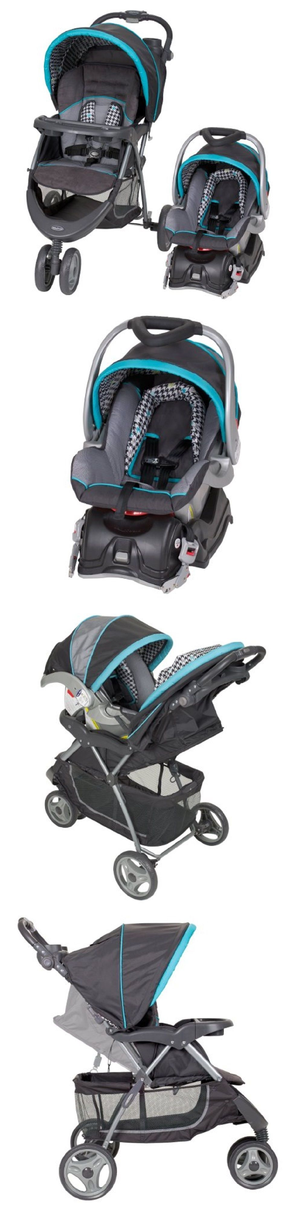 Baby Travel System With Stroller Pram And Car Seat W Base