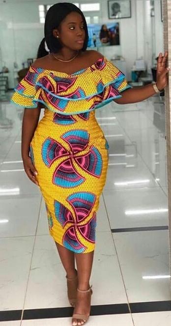 Precious Ankara Designs For The Season Africanfashionankara Curlyhair Club In 2020 African Dresses For Women African Fashion Dresses African Fashion