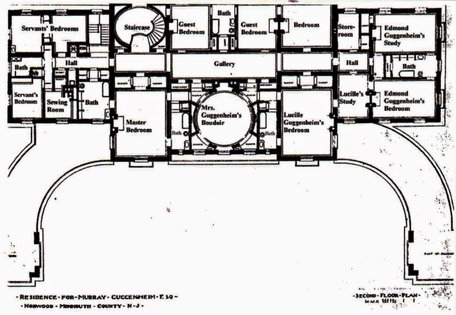 Furthermore medieval manor house on floor plans with central - Carnegie Mansion West Long Branch Nj 2nd Floor