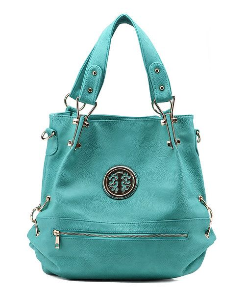 Look at this MKF Collection Seafoam Medallion Hobo on #zulily today!