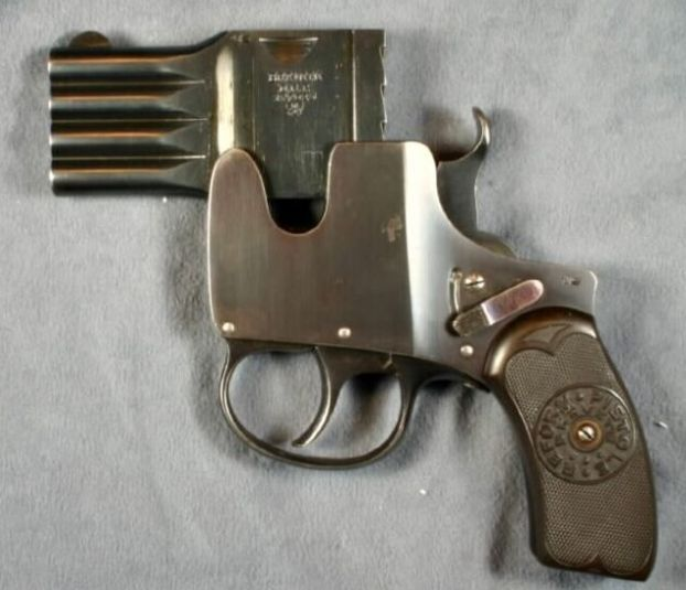 The World S Best Photos Of Guns And Spy: German Brevete Pocket Pistol In 25 ACP, Circa 1906