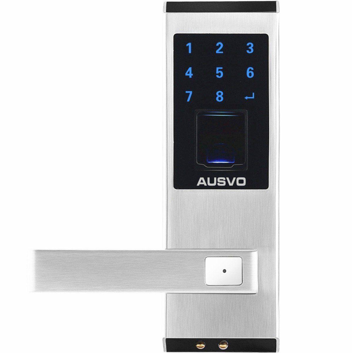 Ausvo Fingerprint Door Lock Biometric Smart Keyless Digital Touchscreen Fingerprint Door Lock Smart Lock Keyless Door Lock