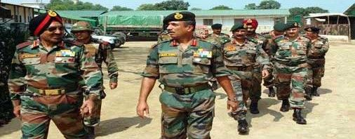 Western Command Chief Lt Gen Surinder Singh Visiting Jammu On