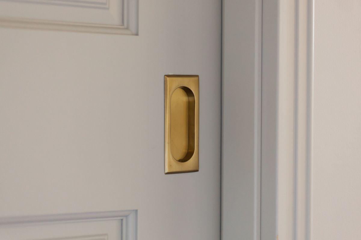 Emtek エムテック 真鍮 ドア 引手 フラッシュプル