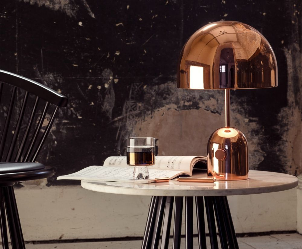 Bell Table Light Copper Table Lights Tom Dixon Copper Home Accessories Table Lamp Copper Table