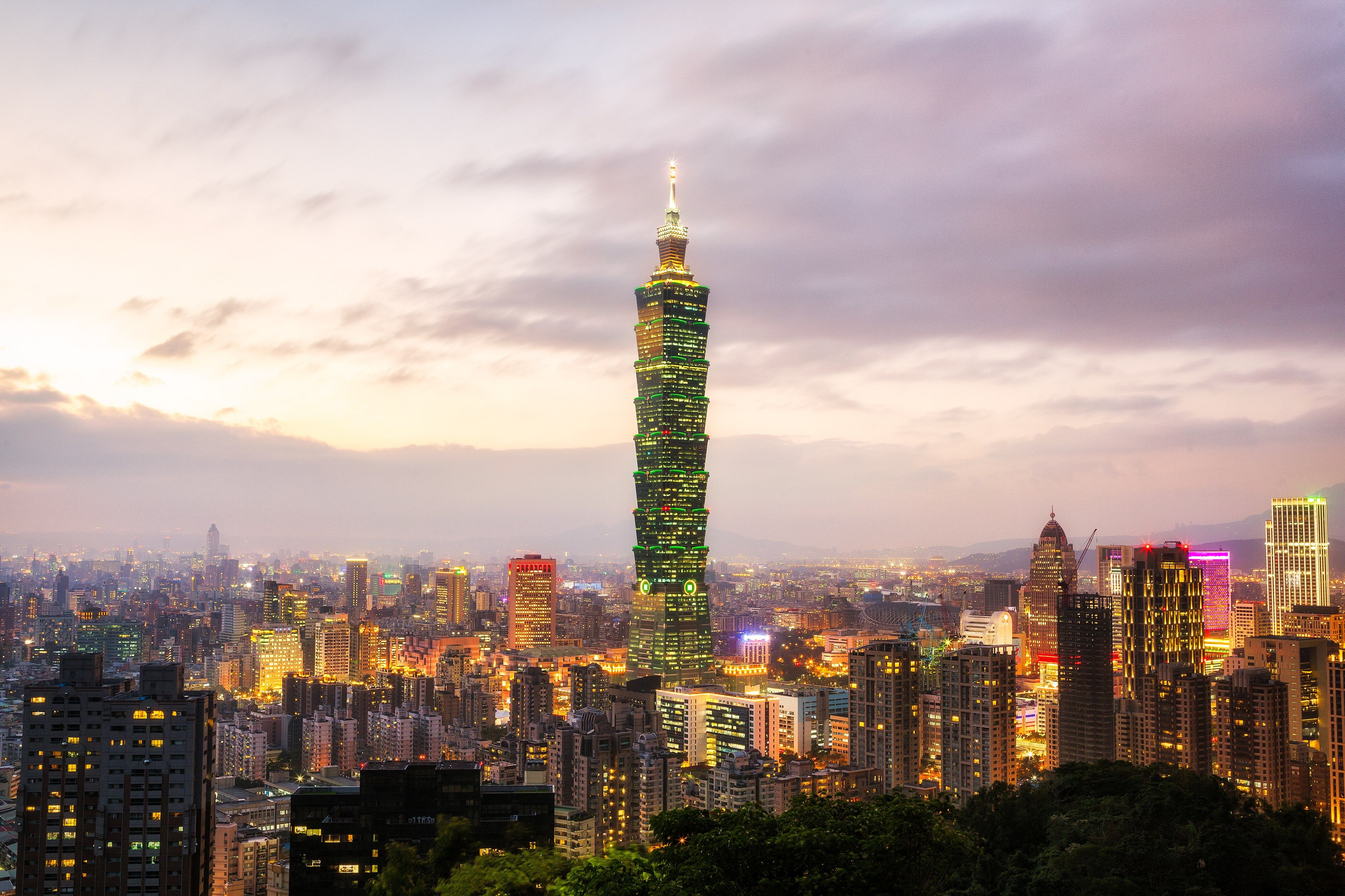 4k taipei 101 hd wallpaper (4000x2667) | pinterest | taipei 101 and