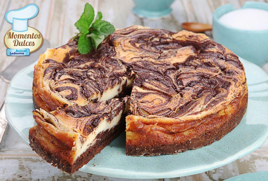 Cheesecake con chocolate - | Recetas para cocinar, Recetas ...