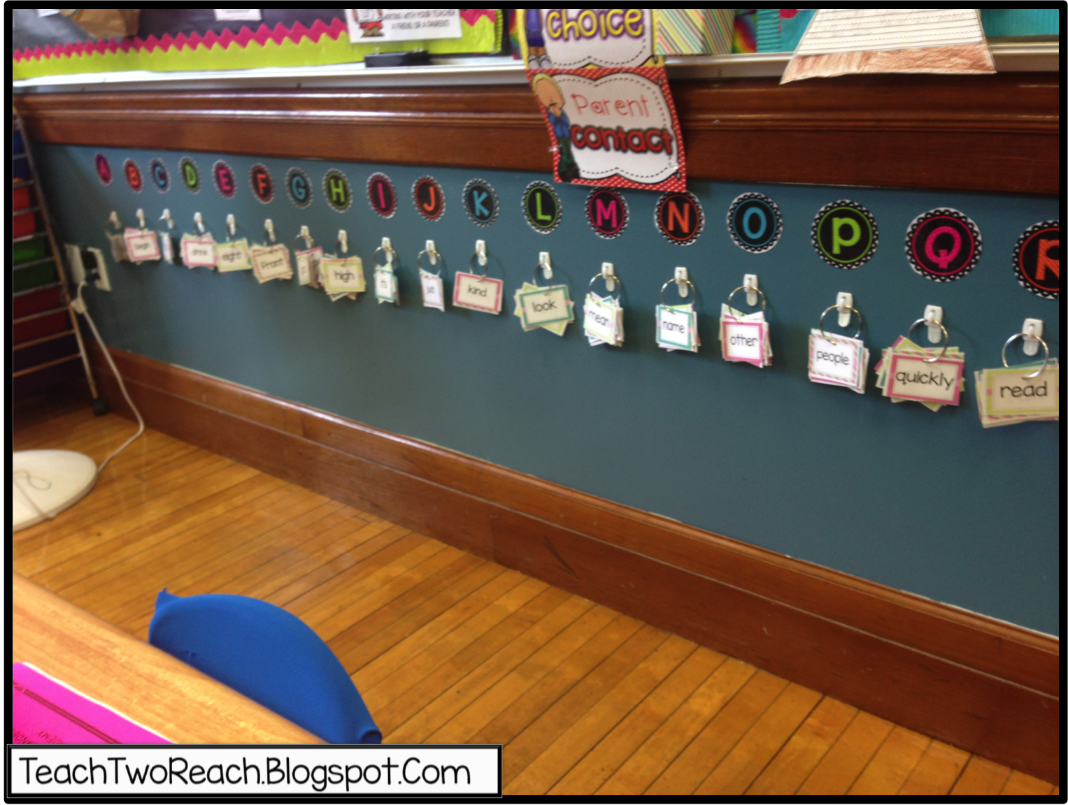 first full week of school and an explosive start on word wall id=53000