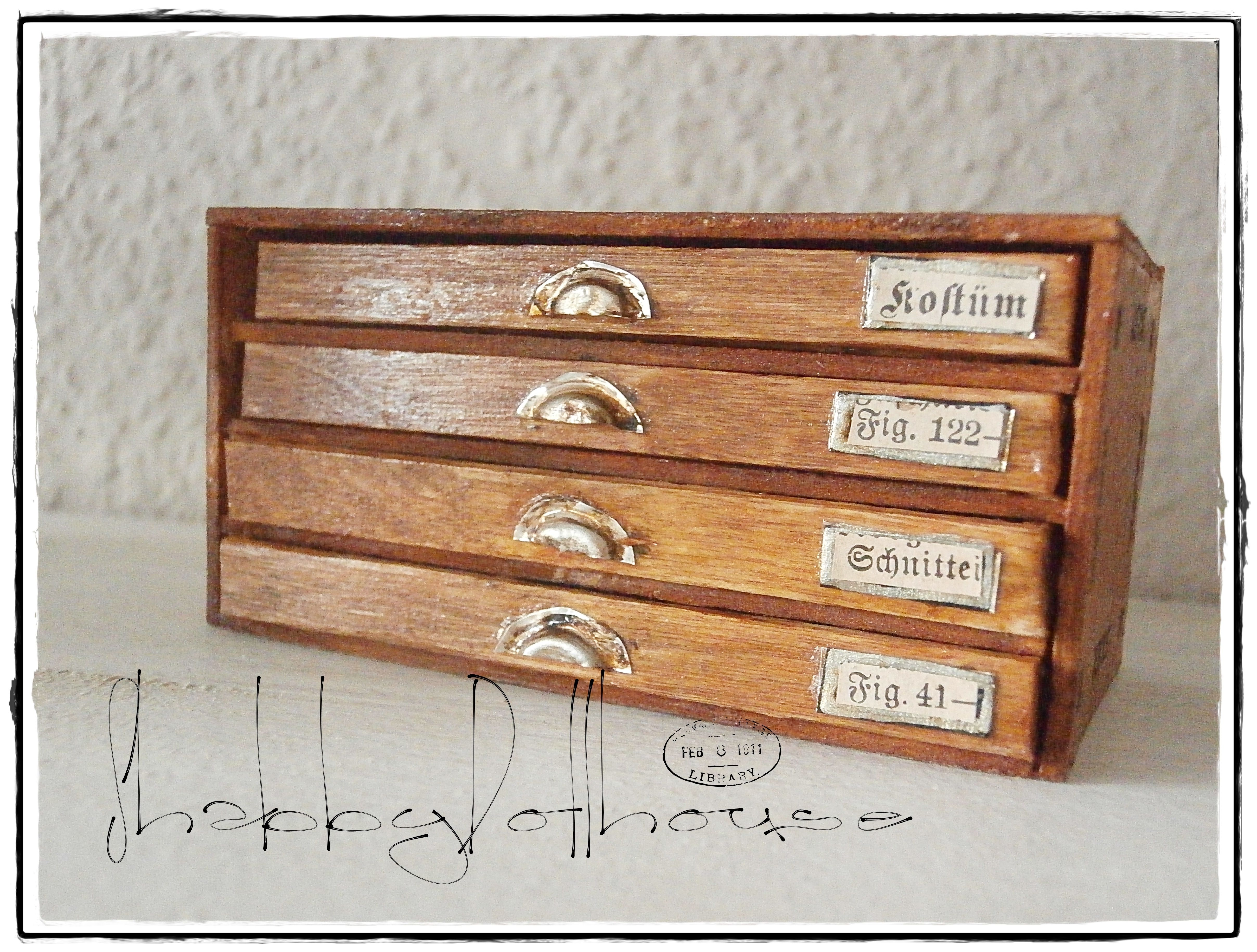 Küchenschränke Schubladen Miniature Drawer Cabinet For Small Things O Sigmine Minis