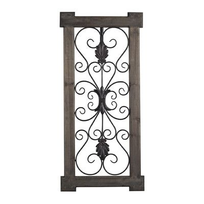 Look What I Found On Wayfair Wall Paneling Metal Wall Decor
