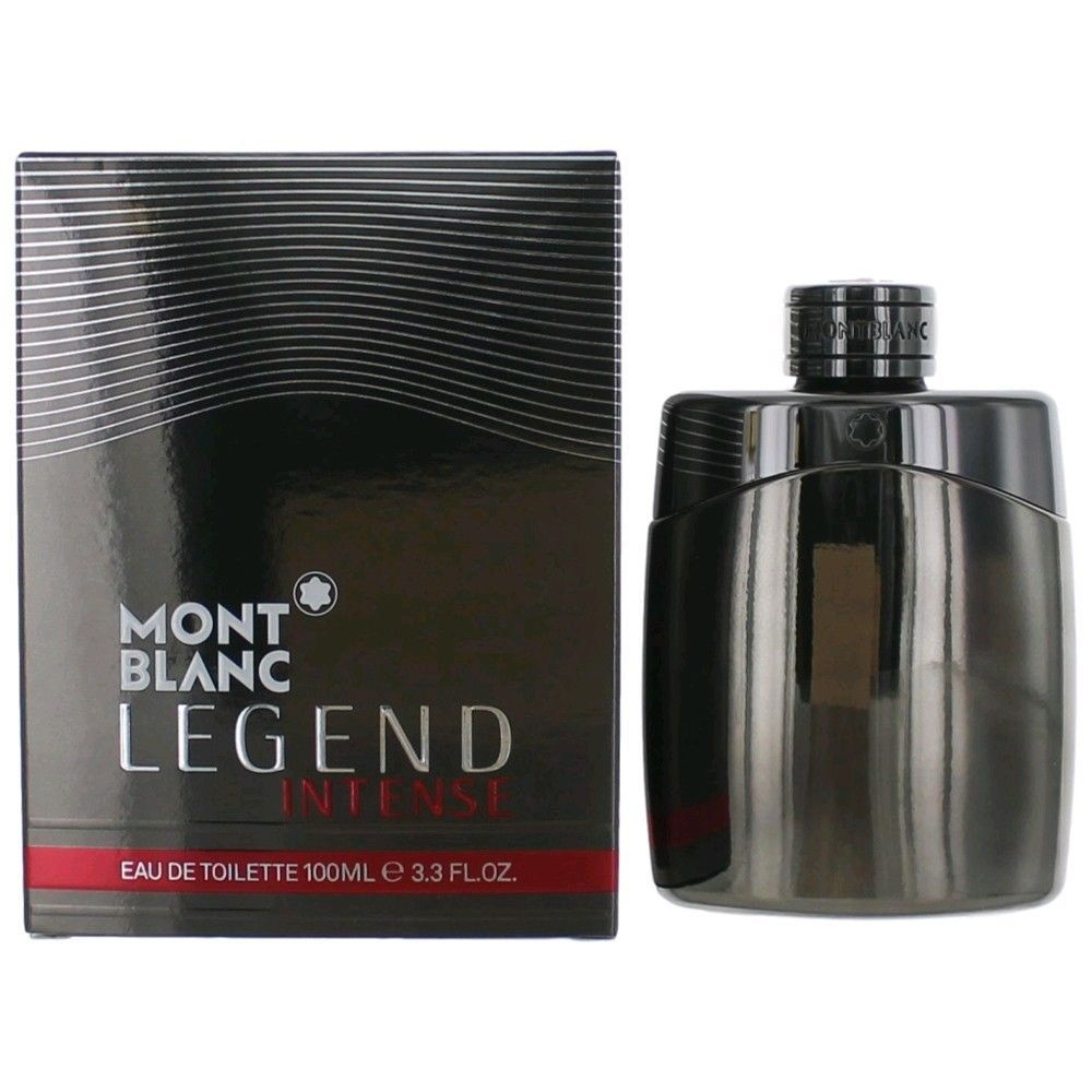 Montblanc Legend Intense By Mont Blanc 3 4 Oz Edt Cologne Spray For Men Nib Montblanc Cologne Spray Best Mens Cologne Mont Blanc
